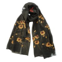 "SSCSP138 ""Love Of The Dawn"" Hand Painted Scarf"