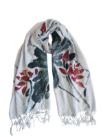 "CSCLO140 ""Sacrifice"" Hand Painted Scarf"