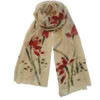 "SSCLO133 ""Careless Whisper"" Hand Painted Scarf"