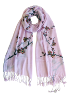 "CSCPL143 ""Endless Love"" Hand Painted Scarf"