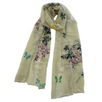 "SSCCW118 ""Unchained Melody"" Hand Painted Scarf"