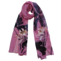 "SSCLO132 ""Unbreak My Heart"" Hand Painted Scarf"