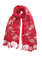 "CSCSP139 ""Bleeding Love"" Hand Painted Scarf"
